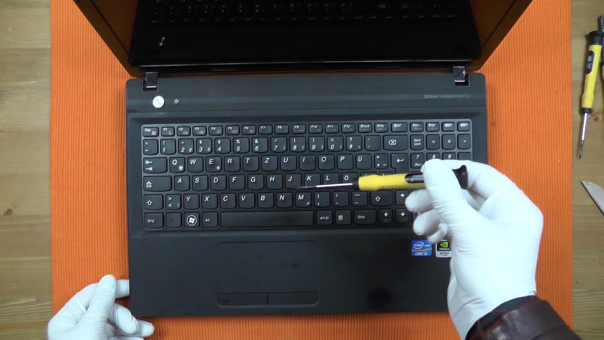 Laptop Keyboard Repair and Replacement