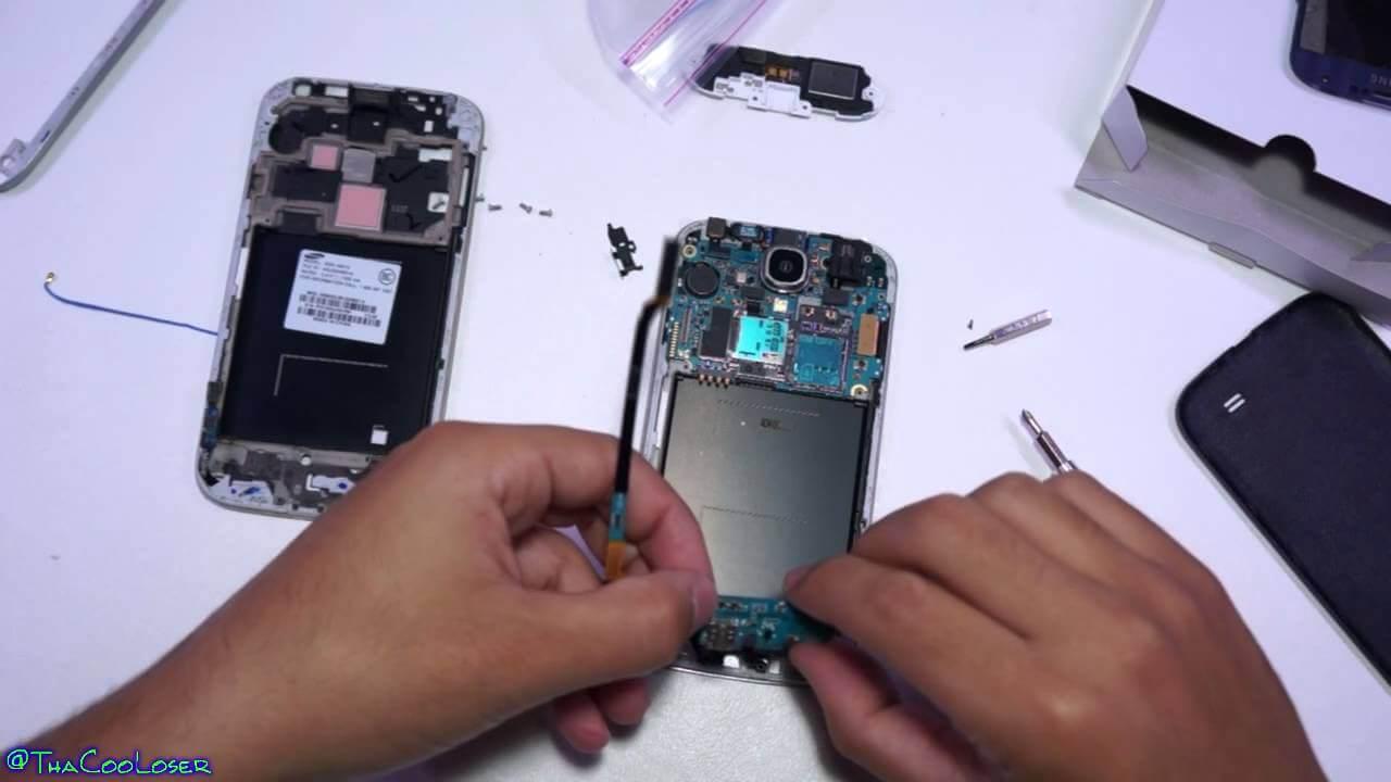Broken LCD Fix