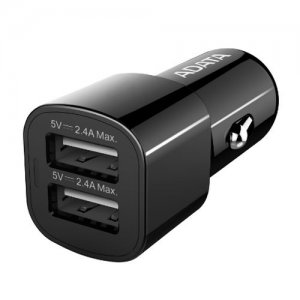 ADATA (CV0172) 17W Dual USB Compact Car Adapter