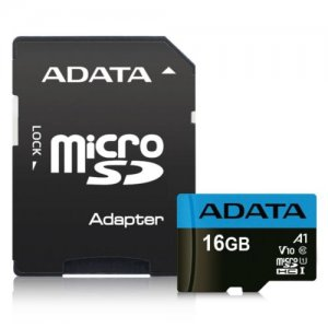 ADATA 16GB Premier Micro SD Card with SD Adapter